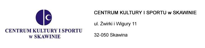 CENTRUM KULTURY I SPORTU w SKAWINIE