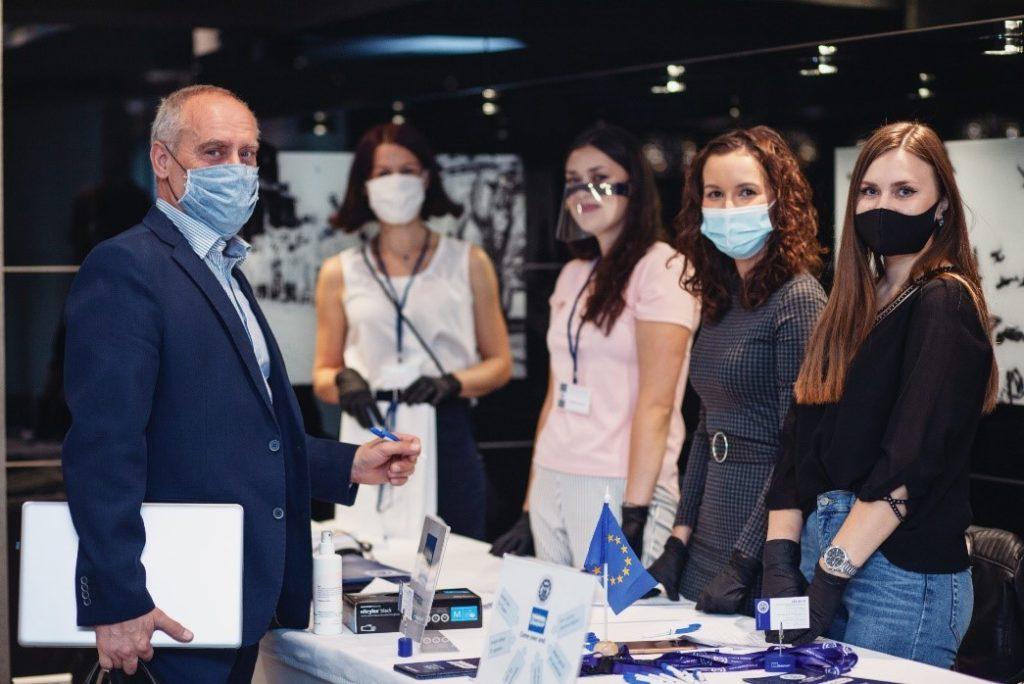 WSBPI Apeiron Erasmus International Days 2020 Info point