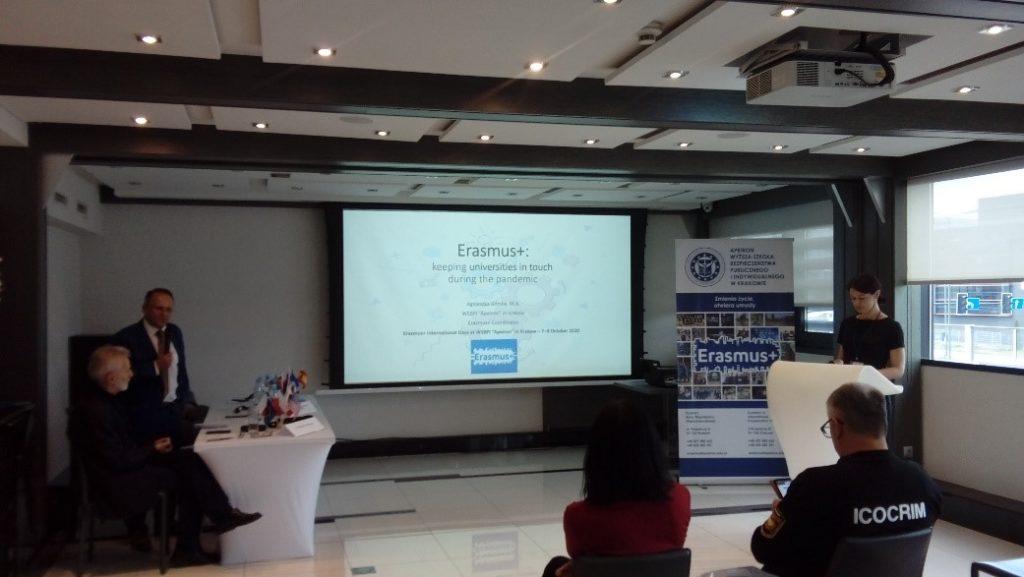 WSBPI Apeiron Erasmus International Days 2020 presentation